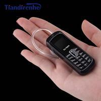 Tiandirenhe M9 MINI Wireless Bluetooth Headphone Headset Dialer Stereo Pocket Mobile Phone Micro SIM Card Dial Call pk bm50 bm70