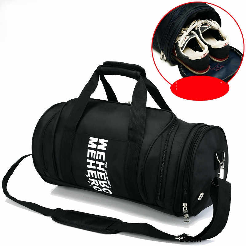 New style sports training gym bag men women fitness gym handbag outdoor football basketball crossbody bag nylon shoulder bags ...
