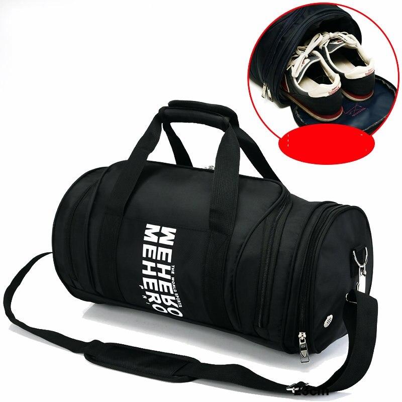New Style Sports Training Gym Bag Men Women Fitness Handbag Outdoor Football Basketball Crossbody Nylon Shoulder Bags In From