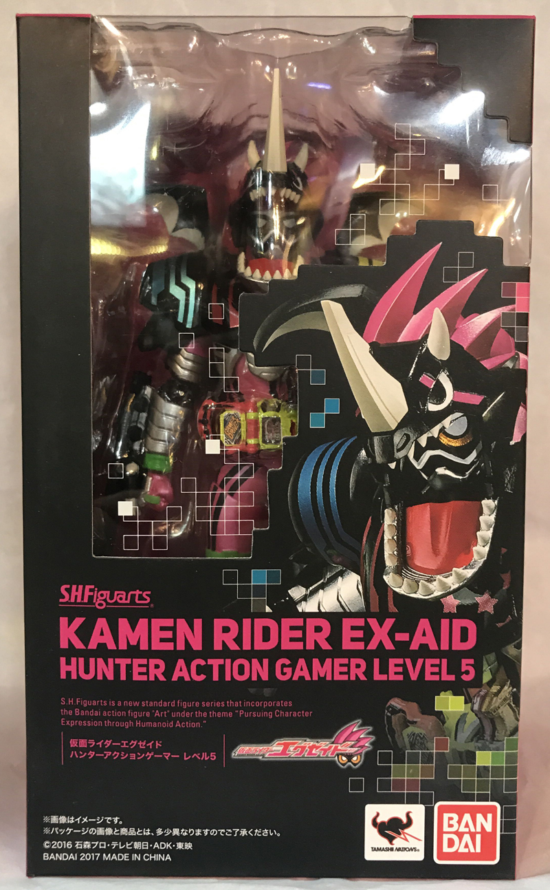 Image 5 - PrettyAngel   Genuine Bandai Tamashii Nations S.H.Figuarts Kamen Rider Ex Aid Hunter Action Gamer Level5 Action Figurebandai tamashii nationsaction figurekamen rider -