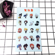 Anime Black Butler Plastic Stickers Transparent Decal Sticker for Phone Laptop Book and other Flat Sticker Children Toy Sticker anime black butler plastic stickers transparent decal sticker for phone laptop book and other flat sticker children toy sticker
