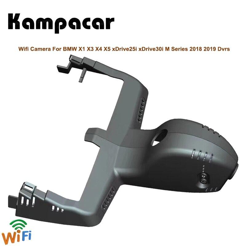 Kampacar HD Car Wifi DVRs With Two Cameras For BMW X3 xDrive25i xDrive28i xDrive30i 2018 2019