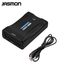 1080 P HDMI к SCART аудио-видео высококлассные конвертер AV Adapter сигнала HD ресивер ТВ DVD
