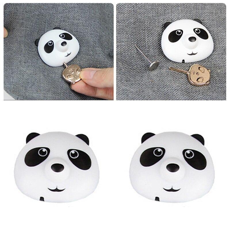 Möbel 8 Teile/los Nette Panda Quilt Abdeckung Greifer Bettlaken Duvet Halter Clips Fastener Nicht-slip Schnallen Fixer