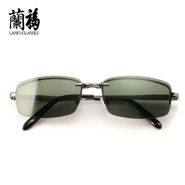 6496fb3589 eyeware frame men magnet polarized clip multi-purpose glasses frame half  optical Spectacle frames aluminium
