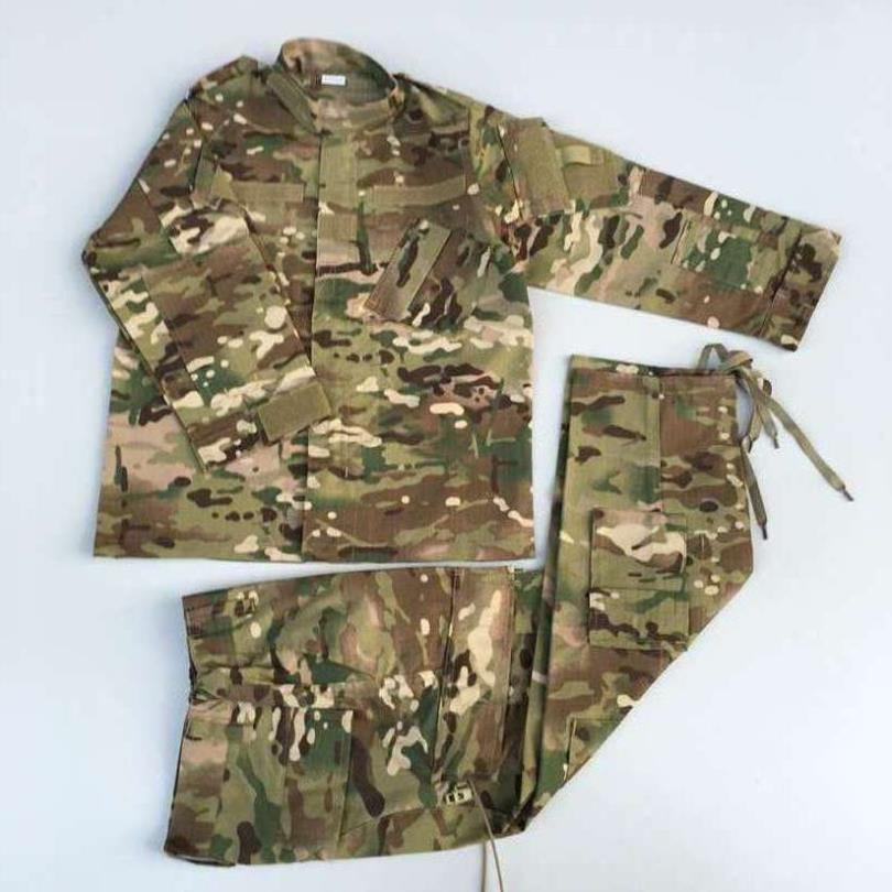 Children Camouflage Sets 2019 Baby Boys Girls Clothes Fashion Army Uniform Sports Kids Set Tracksuit long