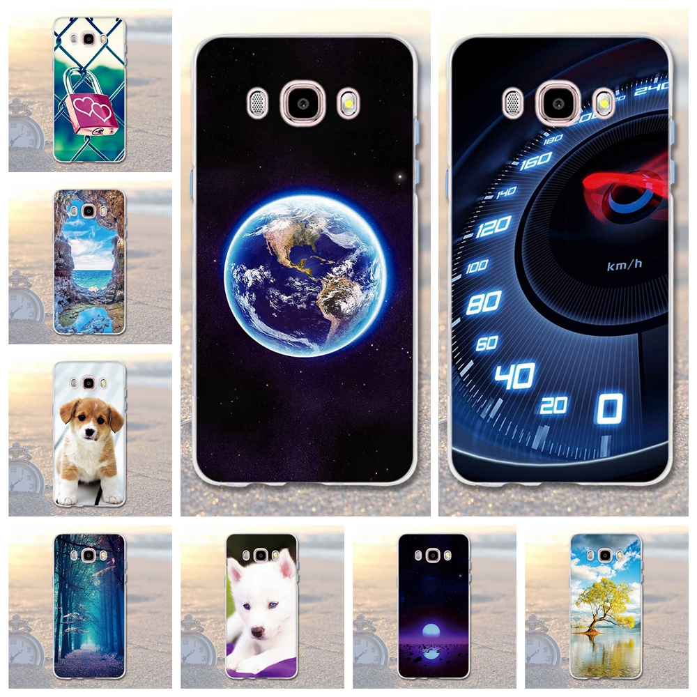 Galleria fotografica Case for Funda Samsung Galaxy J5 2016 Phone Cases 3D Soft TPU Silicone Cover For Samsung Galaxy J5 (2016) J510F Phone Cover Bags