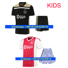 4c801618747 Thai quality 2018 2019 Ajax kids FC soccer jersey 18- 19 KLAASSEN FISCHEA  BAZOER MILIK home away football uniforms shirt