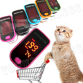 No.1 LED Finger Pulse Oximeter Blood Oxygen Saturation Monitor SPO2 PR Pink/Blue/Oraneg/Green/ Black  FDA CE
