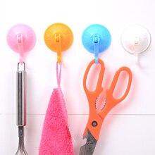лучшая цена 6pcs/set Removable strong suction cup hook good quality Bathroom Kitchen Wall super powerful Vacuum Sucker