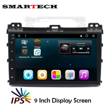 SMARTECH 2Din Prado 120 Car Stereo RDS Radio Android 6.0 IPS Screen Car Multimedia For TOYOTA Land Cruiser 2002-2009 Car Wifi 3G