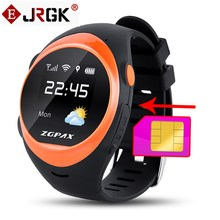 ZGPAX S888 Smart Watch Bluetooth Phone SOS LBS Anti Falling Alarm Locate Remote Smartwatchs Safety Children Kids GPS