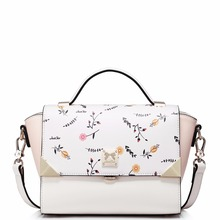 femininas 2017 New Bag Satchel Bag nano all-match Fashion Shoulder Bag Handbag leisure all-match printing