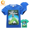 2016 Summer The Good Dinosaur Boys T Shirt Cotton Children The Good Dinosaur Shirt For Baby Boys Kids Clothes Girls Tees