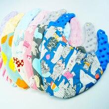 цена Winter Baby Bibs Velvet Baby Feeding Triangle Cute Baby Bibs Girls Boys Cartoon Feeding Scarf Bib Collar Bib Burp Cloth DS19 онлайн в 2017 году