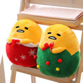 29x22cm lazy egg plush toy funny stuffed soft doll egg cosplay christmas tree kids toys christmas gift free shipping
