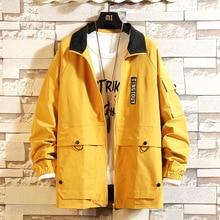 hip hop man jacket spring 2019 fashion casual japanese streetwear veste homme modis clothes black Harajuku college