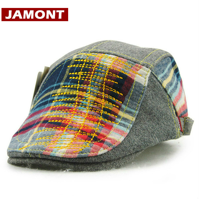 Winter Hat Beret Kids Caps Warm Woolen Autumn Boys Children JAMONT Visors Gorras Casquette