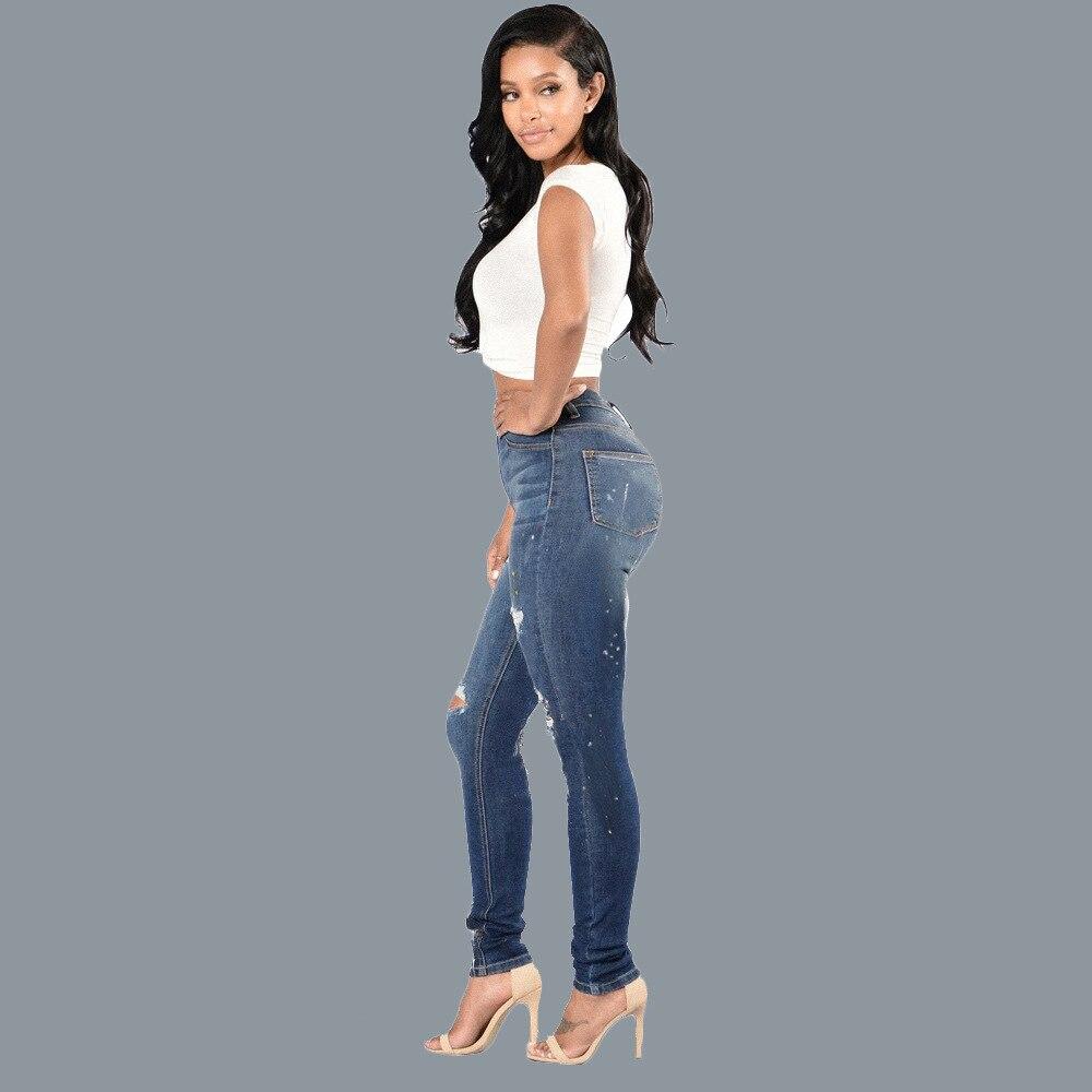 Super elastic jeans trousers 4