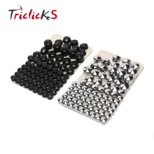 Triclicks 76pcs Motorcycle Motorbike Bolt Topper Caps Nut Covers Nuts Bolts Cover Cap For Harley HD Twin Cam Dyna 1991-2013