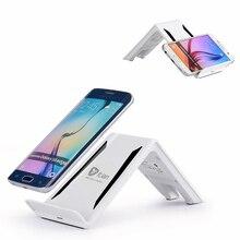 Беспроводной Зарядное устройство itian 3-катушки Ци Беспроводной Подставка для зарядки PowerStation для iphone 8/x Samsung Note8 S8 S8 + S7 край Note5 S6 край
