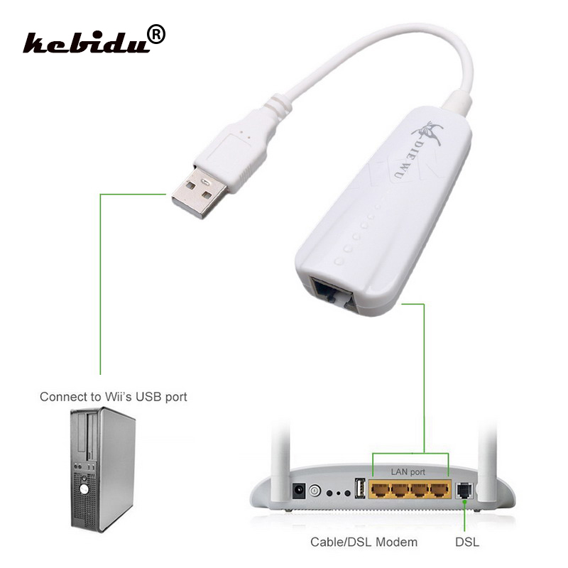 OUYAWEI New for USB 3.0 to 10//100//1000 Mbps Gigabit RJ45 Ethernet LAN Network Adapter