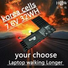 HSW New 7.6V 32Wh  B21N1506 Battery for Asus E502M bateria akku