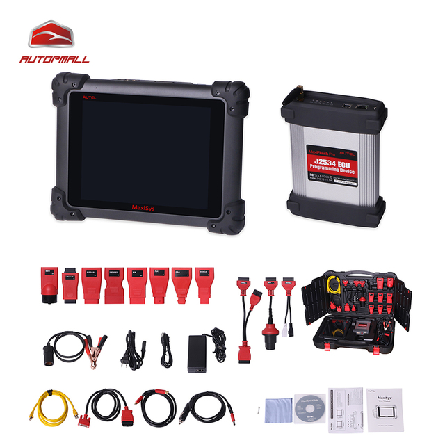 Diagnostic Tool AUTEL MaxiSYS MS908 Pro AUTEL MaxiDas Maxisys Pro Vehicle Diagnostic System Wifi Connection Free shipping