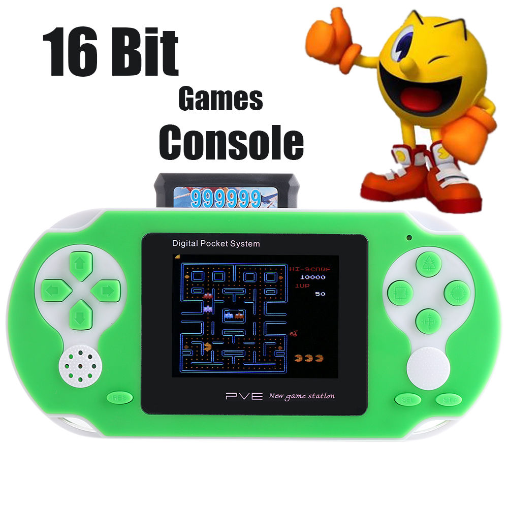 Coolboy 16 bit Handheld Game Console Portable Video Game 150+ Games Retro Megadrive PVE
