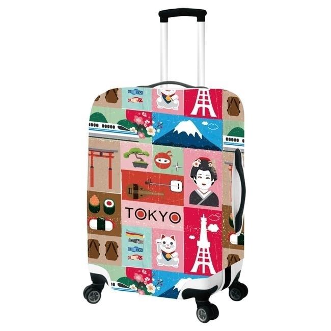 Picnic Gift 9004-SM Tokyo-Primeware Luggage Cover - Small все цены