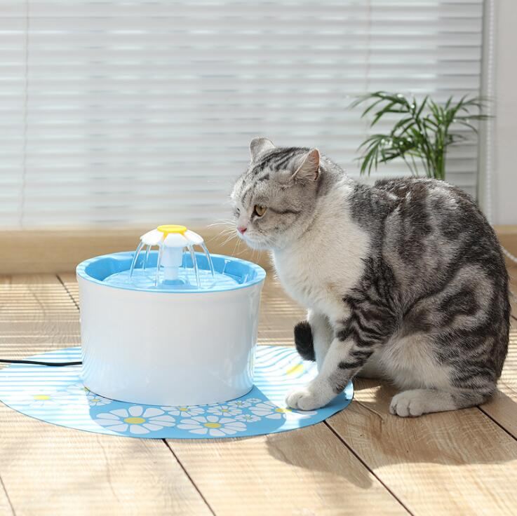 Bowl Fountain-Supplies Pet-Cat-Water Drinking-New Automatic FILTER-DISPENSER Electric