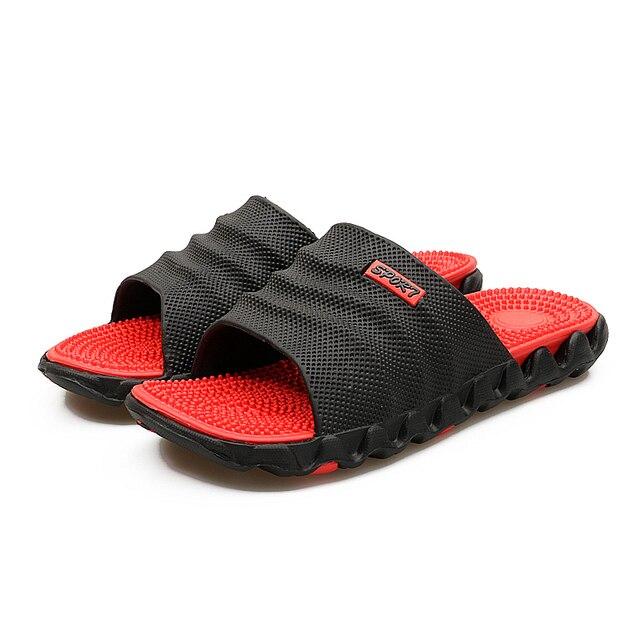 65479351d112 Dropshipping. exclusivo. 2019 nuevo verano fresco agua Flip Flops de alta  calidad masaje suave playa hombres zapatillas hombre moda Zapatos casuales  ...