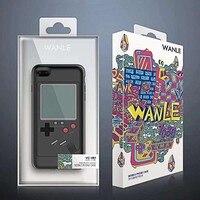 DOITOP Handheld-Spiel-Spieler Klassische Tetris Spielkonsole Telefon Fall Für Iphone X 7 8 6 6 S Plus 2 In 1 Mode Spiel Telefon Fall Für GBA