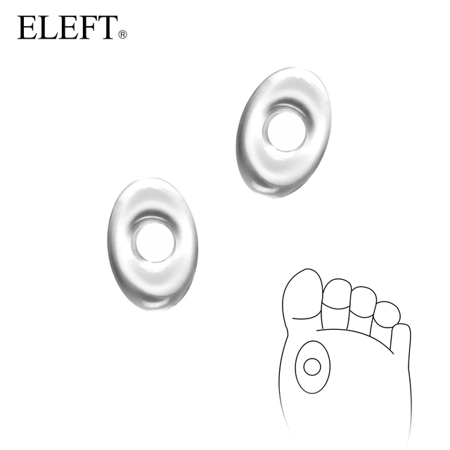 ELEFT Silicone gel insoles inserts corn pad pads Bunion Pain Relief  for Women Female High Heels dance shoe shoes Flips Sandals