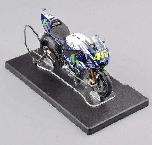 IXO-Алтая 1/18 РОССИ Yamaha YZR-M1 46 # Чемпионат Мира 2014 Литья Под Давлением Мотоцикл Детский Подарок Коллекция