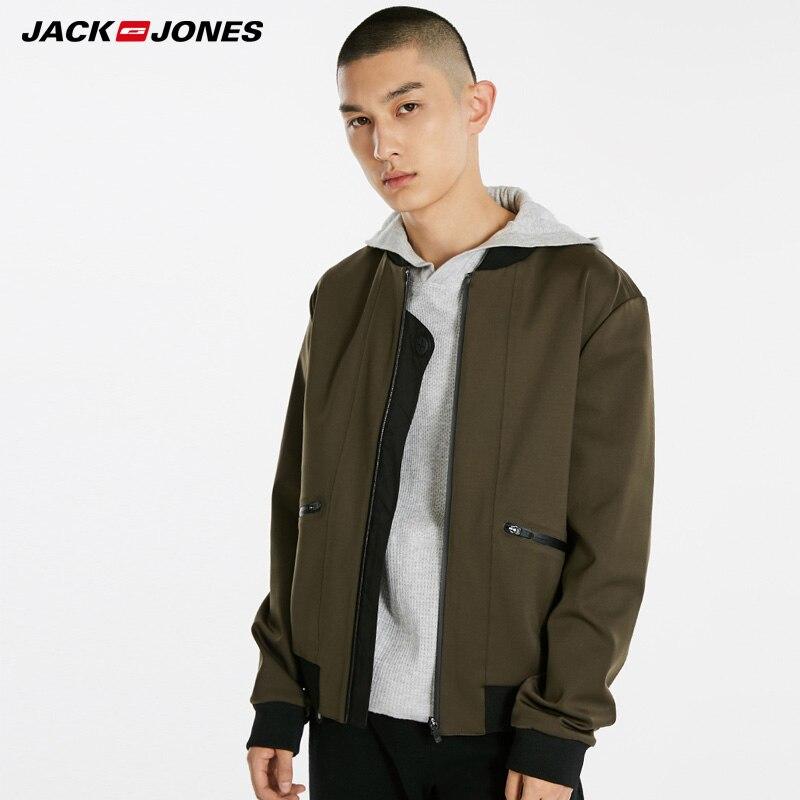 Jack Jones Men New Baseball Leader Jacket   218421503