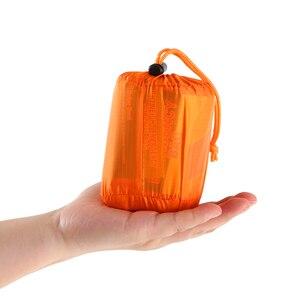 Image 4 - 新しい高品質軽量キャンプ寝袋屋外緊急寝袋巾着袋キャンプ旅行ハイキング