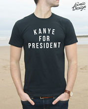 Kanye For President T-Shirt Top Gift Funny West USA America 2020 Vote Slogan New Tee New Unisex Funny Tops freeshipping vote 32