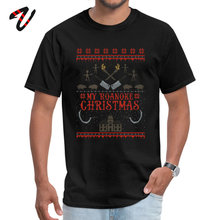 Classic Male Tops Shirt My Roanoke Christmas Party T-shirts All Michael Jackson Stranger Things Sleeve Design Clothing Shirt my michael