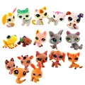 20 PCS/lot MINI Littlest Pet Shop Dog Loose Random Child Girl Toys LPS Gift Brinquedos