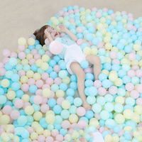 50/100 шт ПВХ мгновенной проявки Macaroon океан шариков для маленьких детей Красочные бассейн шарик водорослей игрушка для детей забавные игрушки...