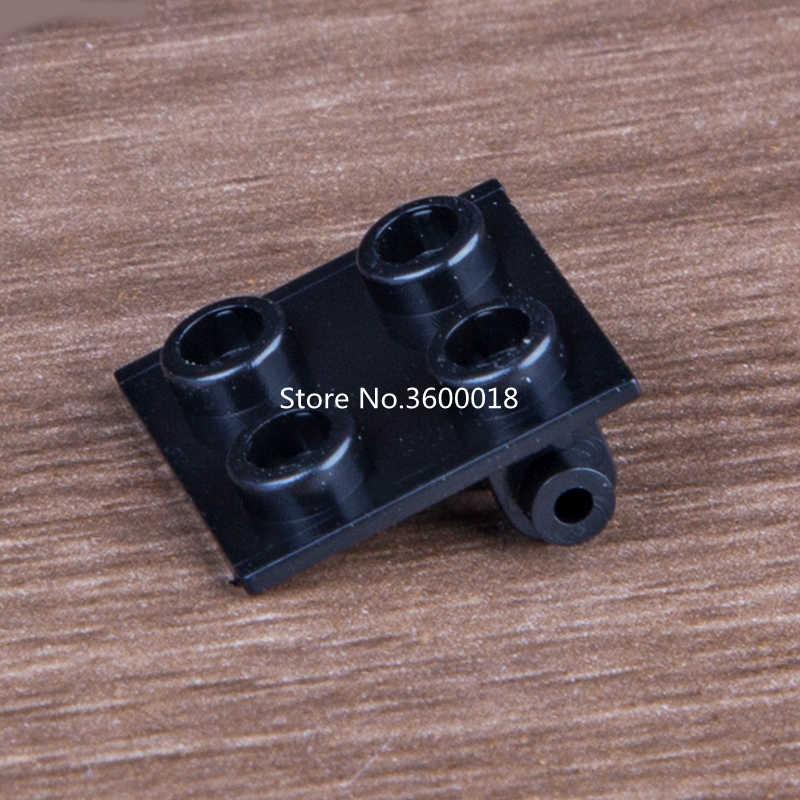 20 Buah/Banyak Decool Plate Kompatibel dengan 6134 Engsel Bata 2X2 Top Plate Moc Batu Bata Diy Blok Set