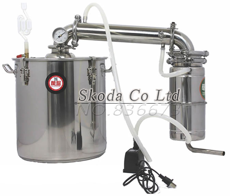 Bar Household 20L/30L/50L Alcohol Distiller Liquor Wine Brewing Device Spirits Distillation Vodka Maker Whisky Large Capacity!! l