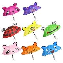 Игрушки для маленьких девочек DIY, куклы, аксессуары Зонтик для девочек 18 дюймов, детские куклы ручной работы, лучший подарок для детей