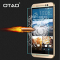 Tempered Glass Screen Protector For HTC One M7 M8 M9 E9 Desire 510 516 616 626 820 816 2.5D 0.33mm 9H Film with Cleaning Kits