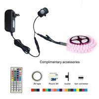 Motion Activated LED Bed Light Kit RGB PIR Motion Activated LED Strip Sensor Night Light Automatic