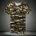 Summer Men`s Camo T-shirts Short Sleeve Plus Size 5XL Military Style Tees Tshirt Teeshirt For Men Homme Big and Tall