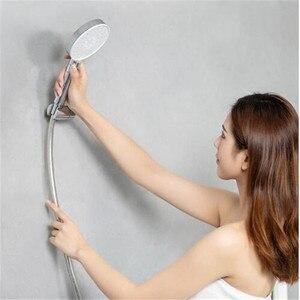 Image 2 - Youpin dabai Diiib 3 מצבי כף יד מקלחת ראש סט 360 תואר 120mm 53 מים חור עם PVC מאטל חזק עיסוי מקלחת