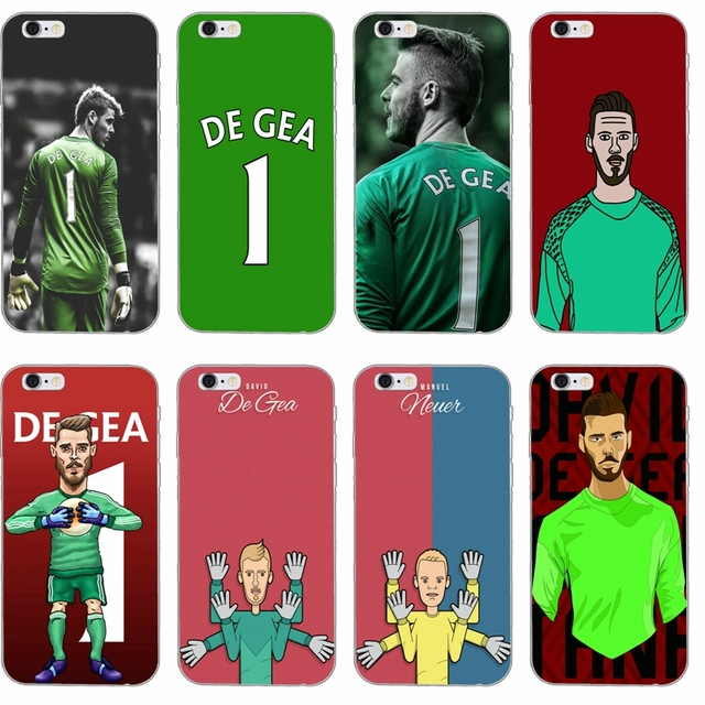 watch f58d1 5f4c5 US $1.99 |goalkeeper David De Gea 1 Slim Silicone Soft phone case For  Samsung Galaxy J1 J2 J3 J5 J7 A3 A5 A7 2015 2016 2017-in Half-wrapped Case  from ...