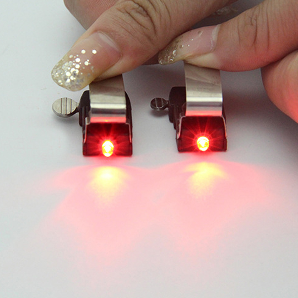 Bicycle Light LED Nano Taillights Safe Warning Light for V Brake Disc Brake Top